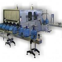 """Rinsing Filling Machine for Plastic bottle 15 ÷ 25 liter models """"AL 2"""""""