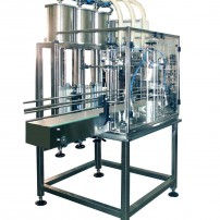 "FILLING MACHINE 3-10 L ELECTRONIC DOSAGE – OIL Model "" V 10 """