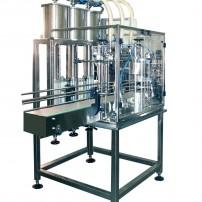 """FILLING MACHINE 3-10 L ELECTRONIC DOSAGE – OIL Model """" V 10 """""""